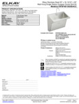 Elkay EWSFAD13620SACC Spec Sheet