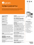 Groen DEE/4-40C Spec Sheet