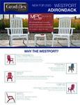 Grosfillex Westport Adirondack Chair Spec Sheet