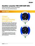 HeartSine 350P and 360P Specsheet