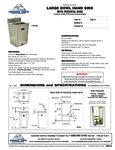 ADV500 Sink Spec