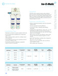 Ice-O-Matic Water Filter Specsheet