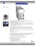 Imperial Range IPC-14, IPC-18 Spec Sheet