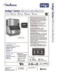 Manitowoc Indio Series 300 Ice Cube Machine (Including ID- and IY- Models)