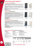 JL Industries Ambassador Series Cabinets Specsheet