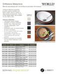 World Tableware Driftstone Melamine Platters and Bowls