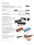 Mercer Culinary Knife Sharpeners specsheet