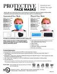 Mercer Culinary Reusable Protective Face Masks
