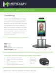 516PMK01APD Meridian Kiosk Counter or Desk Top