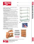 Metro SASE Shelving Units
