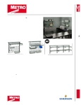 Metro Smartwall G3 Shelving Spec Sheet