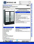 Bev Air MMF49HC Specsheet