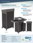 Oklahoma Sound Specsheet Greystone Lectern
