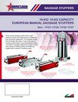 Omcan European Sausage Stuffer Specsheet