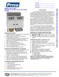 Pitco SELV184-C/FD Spec