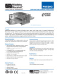 PS520G Middleby Gas Conveyor Oven Spec Sheet