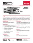 PS528E Middleby Electric Conveyor Oven Spec Sheet
