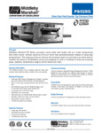 PS528G Middleby Gas Conveyor Oven Spec Sheet