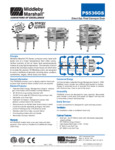 PS536G Middleby Gas Conveyor Oven Spec Sheet