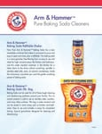 Pure Baking Soda Cleaners