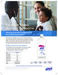 Purell Advanced Hand Sanitizer Specsheet