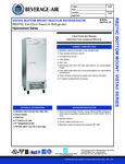 Beverage-Air RB27HC-1S Spec Sheet