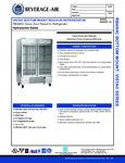 Beverage-Air RB49HC-1G Spec Sheet