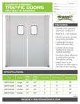 Regency Traffic Doors Spec Sheet