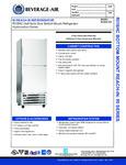 Beverage-Air RI18HC-HS Spec Sheet
