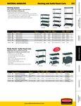 Rubbermaid Shelf Spec Sheet