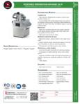 Sammic CA-31 Food Processor
