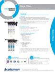 Scotsman Water Filter Spec Sheet