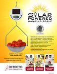 Cardinal Deteco Solar Scale Spec