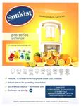 Sunkist Equipment Sectionizer Pro Spec Sheet