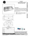 Just Manufacturing J4820 Specsheet