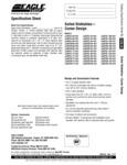 Spec Sheet for Eagle Group SDTC Stainless Steel Dishlanding Soil L-Shape Dishtable