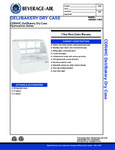 Specsheet for Beverage-Air CDR4HC-1-W-D Bakery Display Case