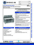 Specsheet for Beverage-Air DPD67HC-6 Pizza Prep Table