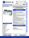 Specsheet for Beverage-Air DPD93HC-2 Pizza Prep Table