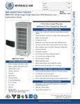 Specsheet for Beverage-Air MMF27HC-1-W-IQ MarketMax White Glass Door Merchandiser Freezer