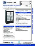 Specsheet for Beverage-Air MMR44HC-1-B-WINE Wine Merchandiser