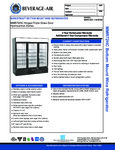 Specsheet for Beverage-Air MMR72HC-1-B-WINE Wine Merchandiser