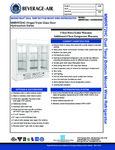 Specsheet for Beverage-Air MMRR72HC-1-B-BW-WINE Wine Merchandiser