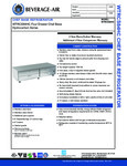 Specsheet for Beverage-Air WTRCS84HC Four Drawer Refrigerated Chef Base