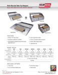 Specsheet for HeatSeal Roller Mounted Table Top Wrapping Machines