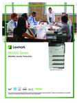 Specsheet for Lexmark MX620 Series Monochrome Laser Printer