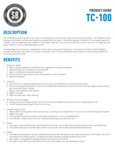 Specsheet for Spike Brewing TC-100 Temperature Control System