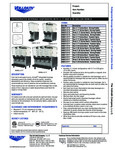 Specsheet for Vollrath VBBD 3 and 5 Gallon Refrigerated Beverage Dispensers