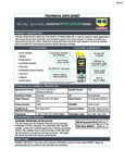 Specsheet for WD-40 Specialist Protective White Lithium Grease