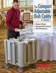 Specsheet_S-Series Compact Adjustable Dish Caddy_Cambro
